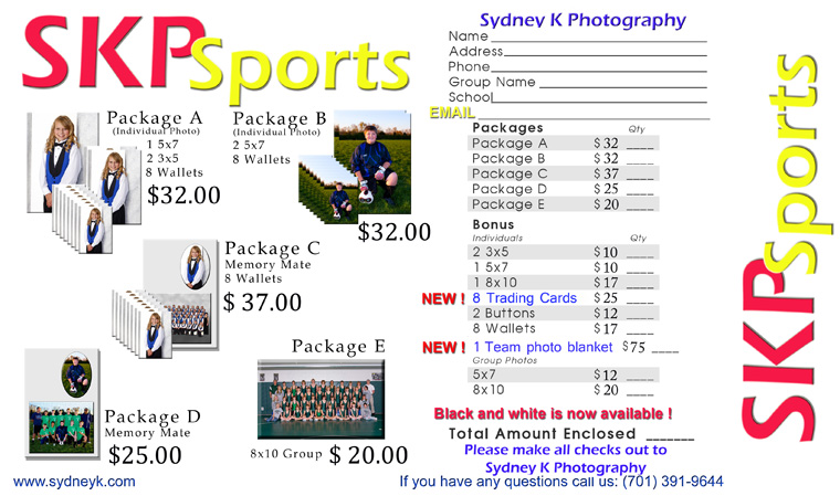 Forms - Sydney K Sports Photography